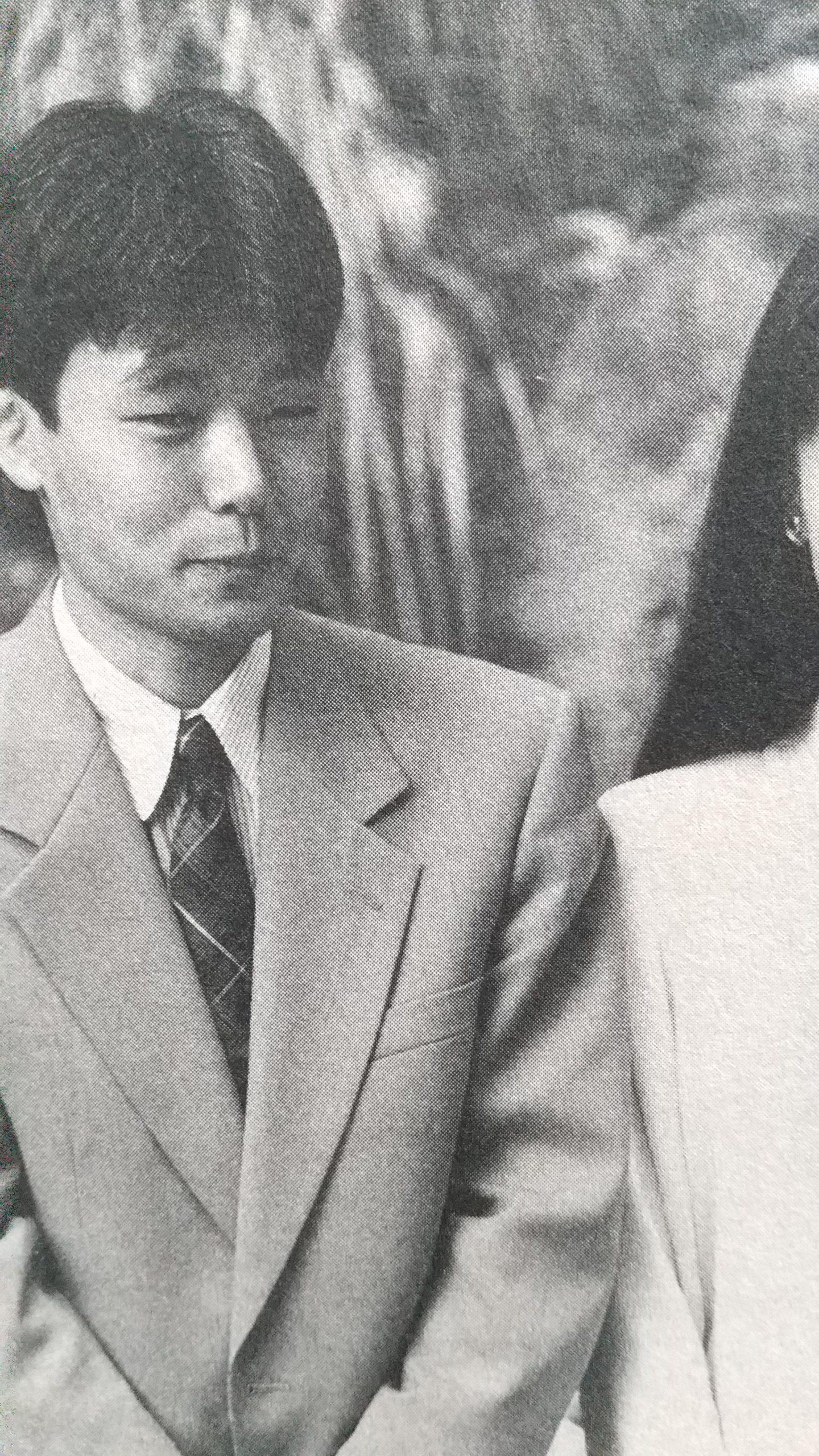 藤井猛六段(当時)と同じ野球のユニフォームを着た応援団。   将棋 ...